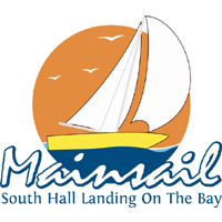Mainsail, South Hall Landing on the Bay